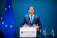Johnson ready to sign up to EU standards to get trade deal - Varadkar