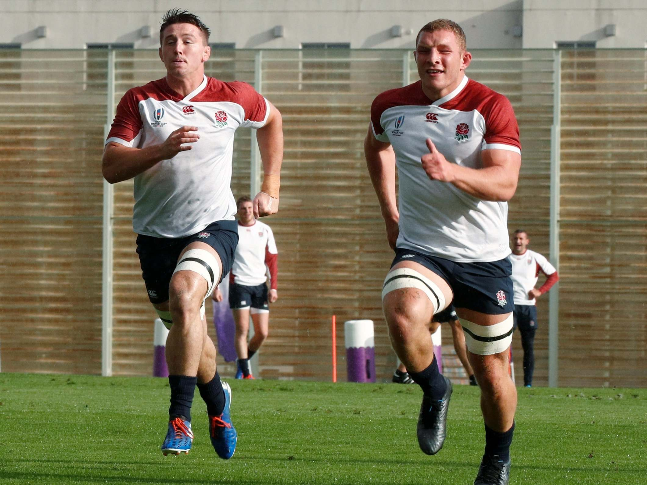 Rugby World Cup 2019: England's 'Kamikaze Kids' Tom Curry and Sam Underhill set out to electrocute Argentina