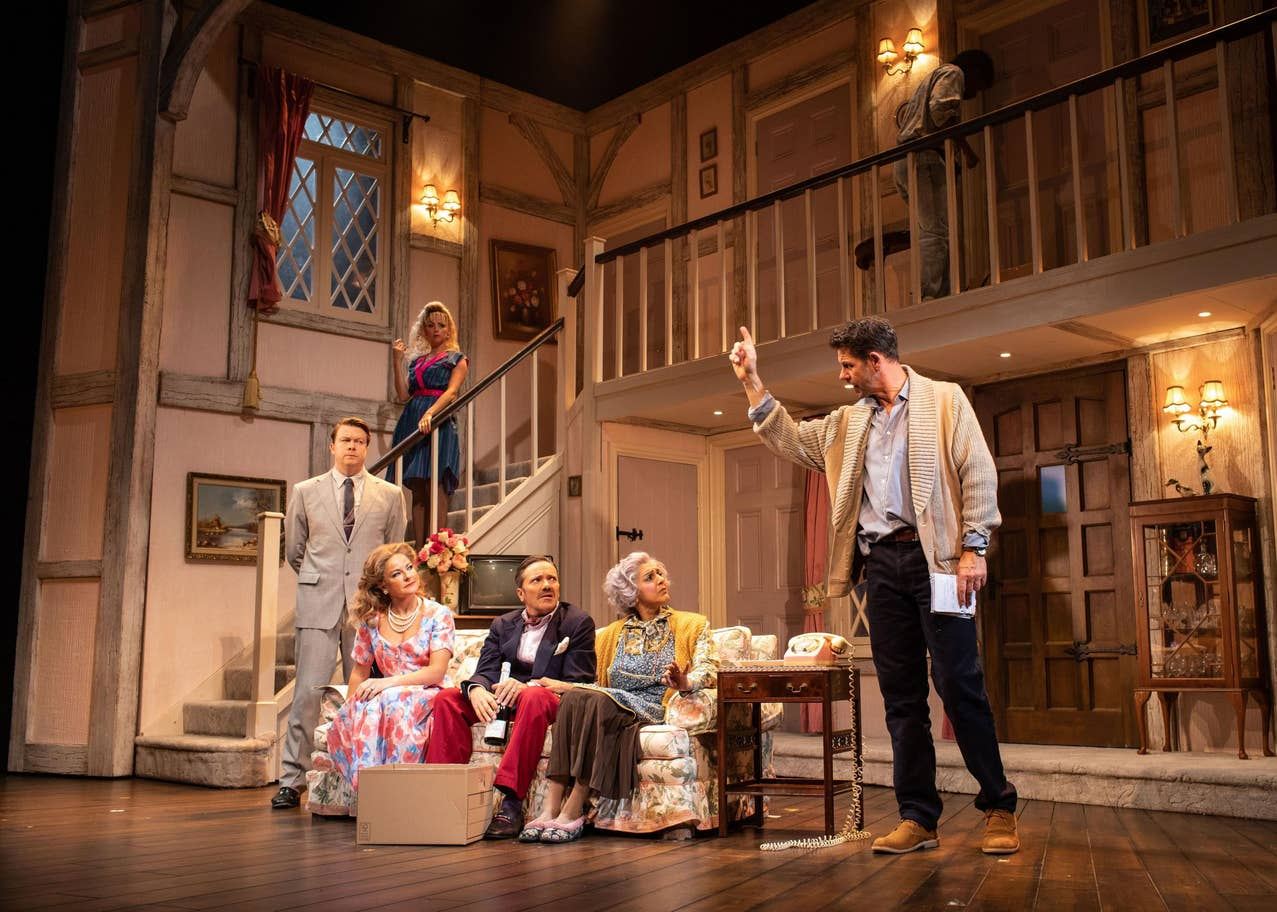 Noises Off review, Garrick Theatre: Michael Frayn's classic farce is riotous fun