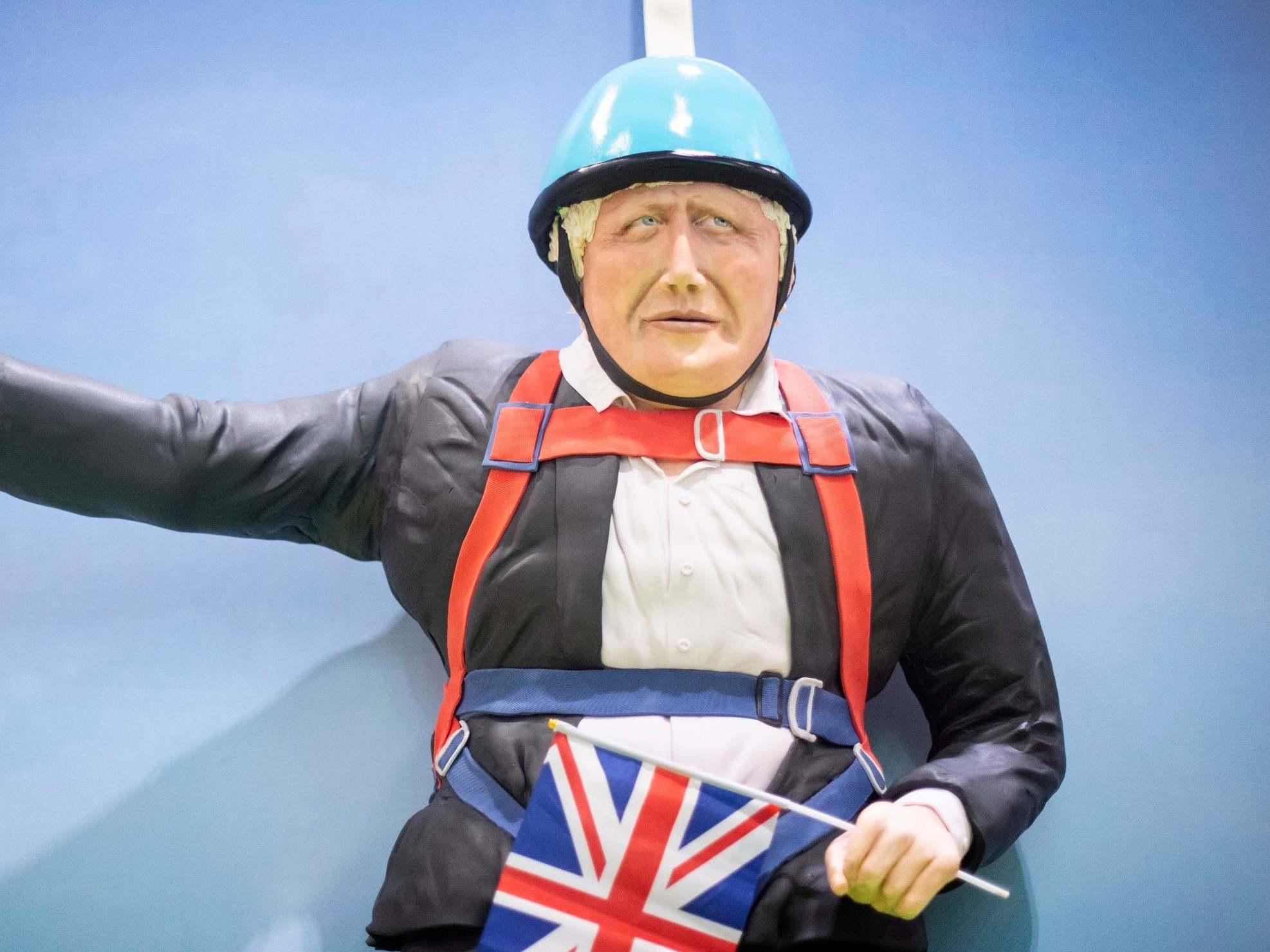 Life-sized Boris Johnson cake unveiled at bakery show 1