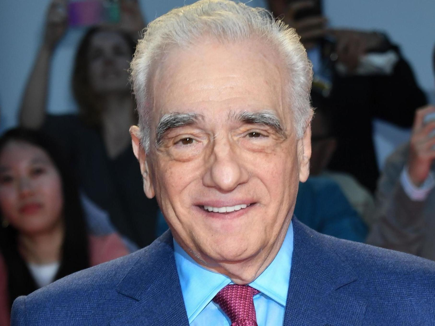 Martin Scorsese says he 'doesn't have time' to write female characters