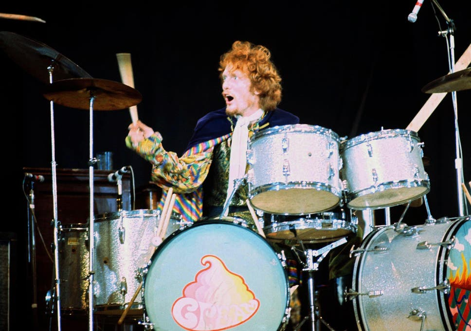 Baker is credited as having authored rock's first epic drum solo