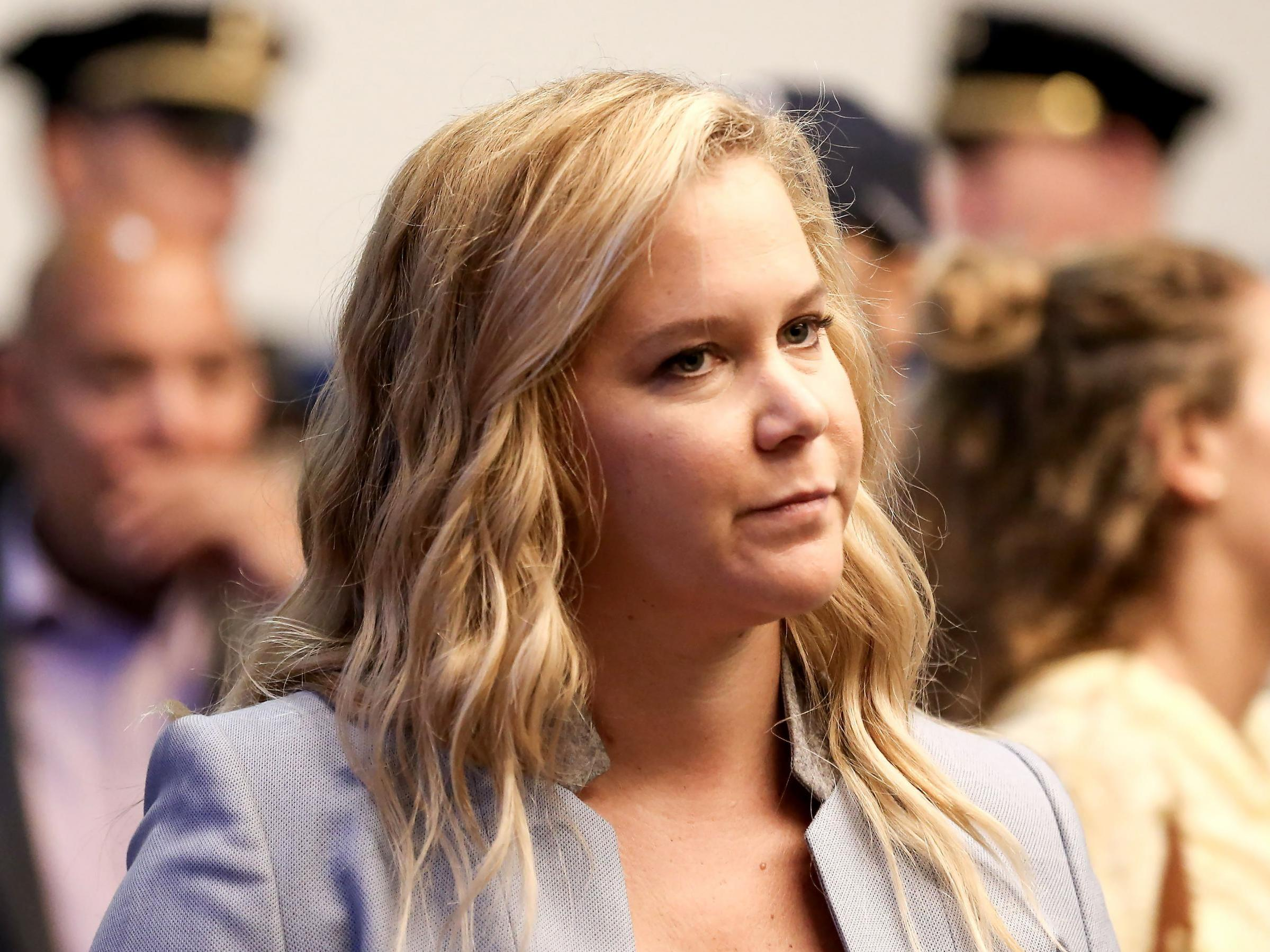 Amy Schumer felt 'worried' about returning to work after birth of son: 'I've cried from missing him'