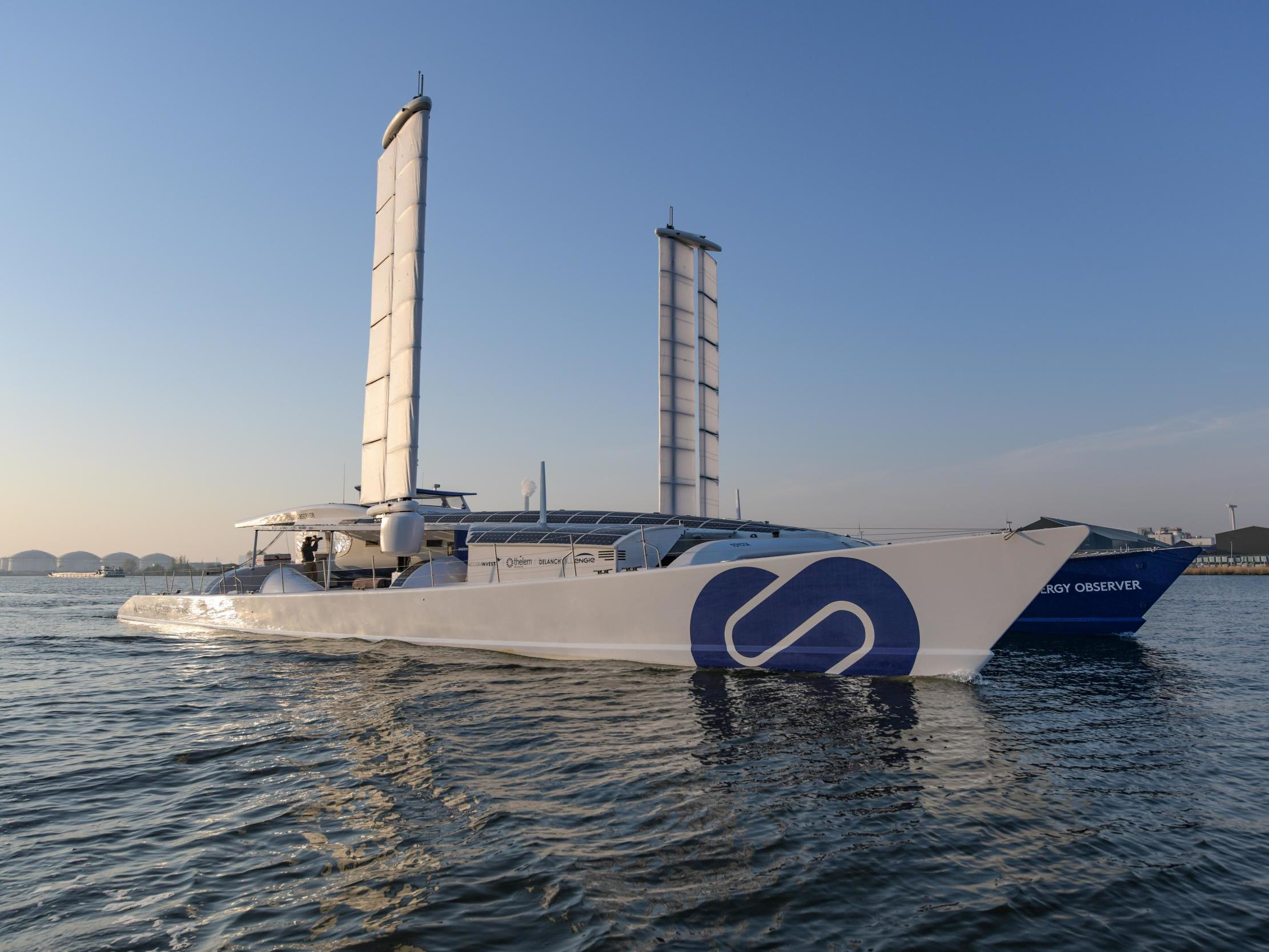 World's first hydrogen-powered ship docks in London as part of zero-emissions global tour