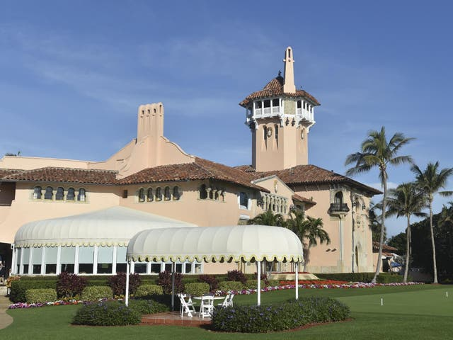 The event was scheduled to be held at Mar-a-Lago on 7 November