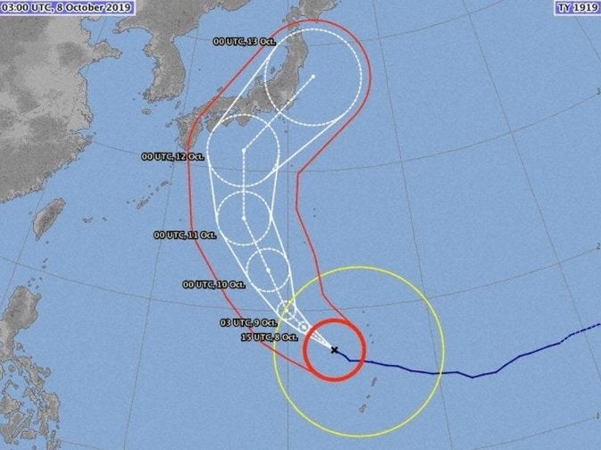 Rugby World Cup 2019: Super Typhoon Hagibis intensifying and threatening England and Scotland games