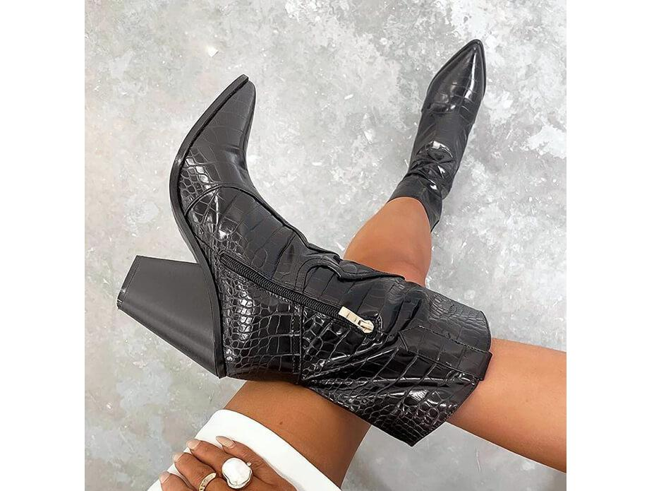 Best ankle boots for autumn: Biker