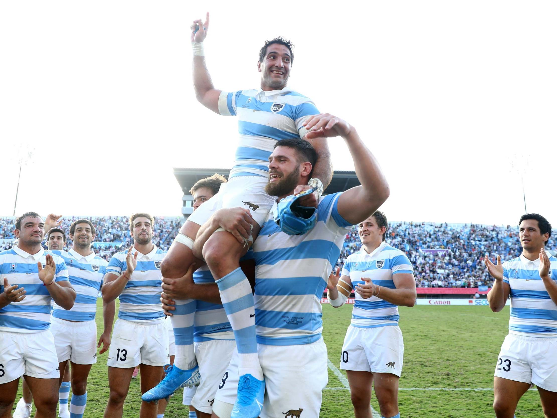 Rugby World Cup 2019: Argentina secure 2023 berth with consolation victory against United States