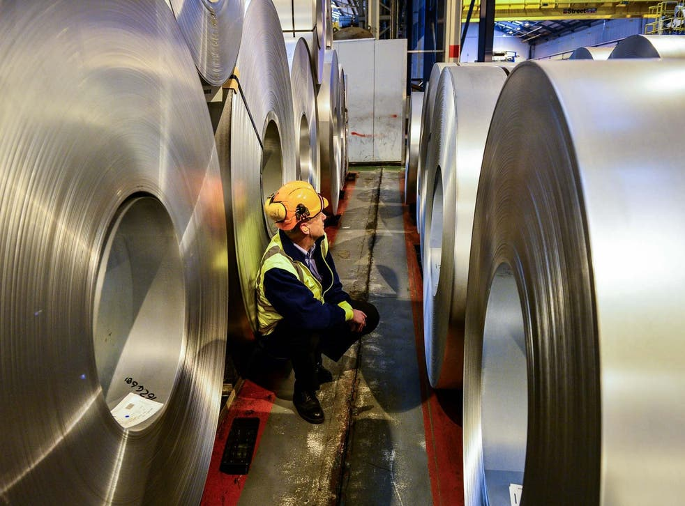 <p>Factories and businesses are struggling with rising energy bills</p>