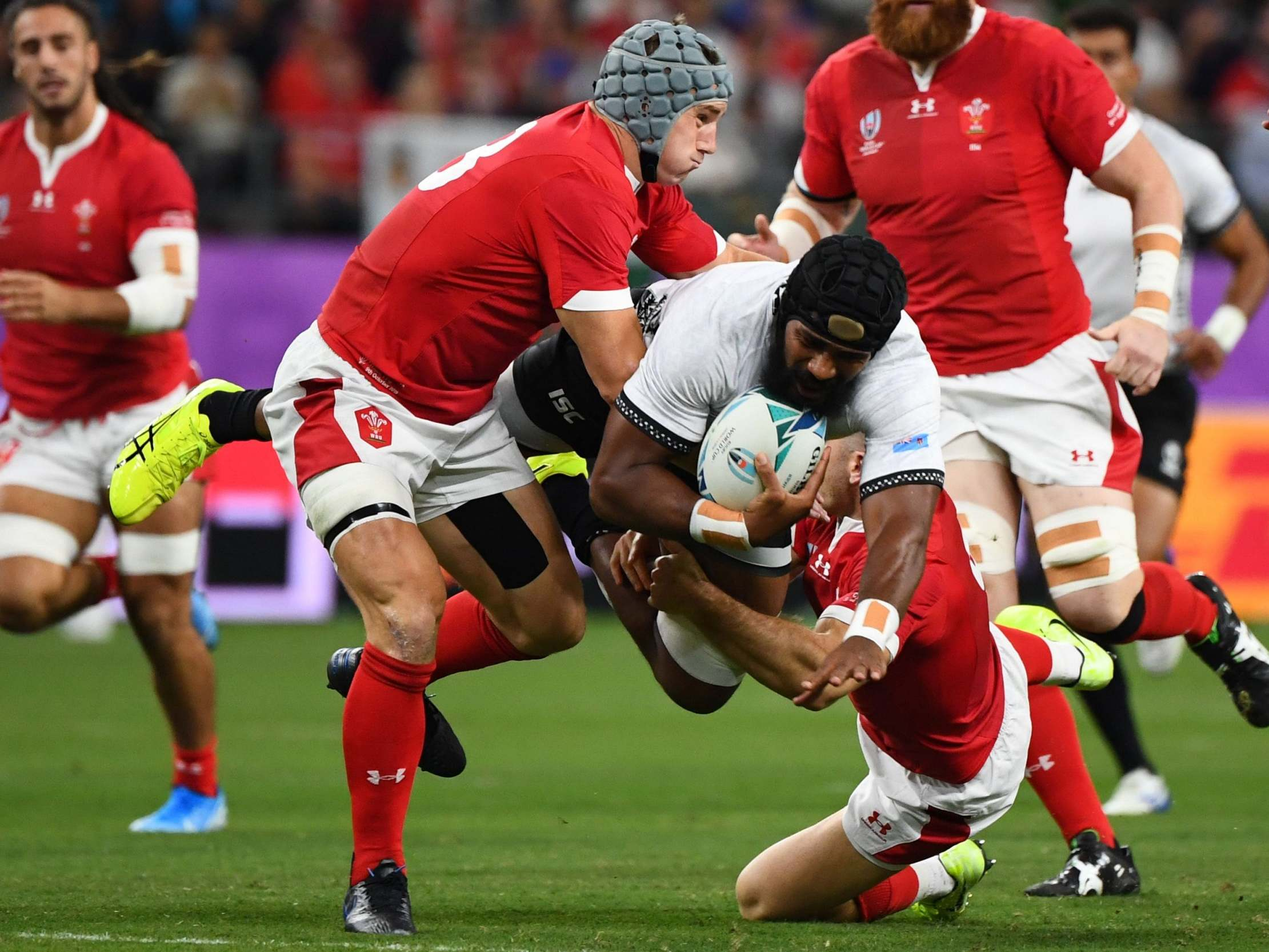 Wales vs Fiji, Rugby World Cup 2019 LIVE: Latest score and updates from today's Pool D fixture
