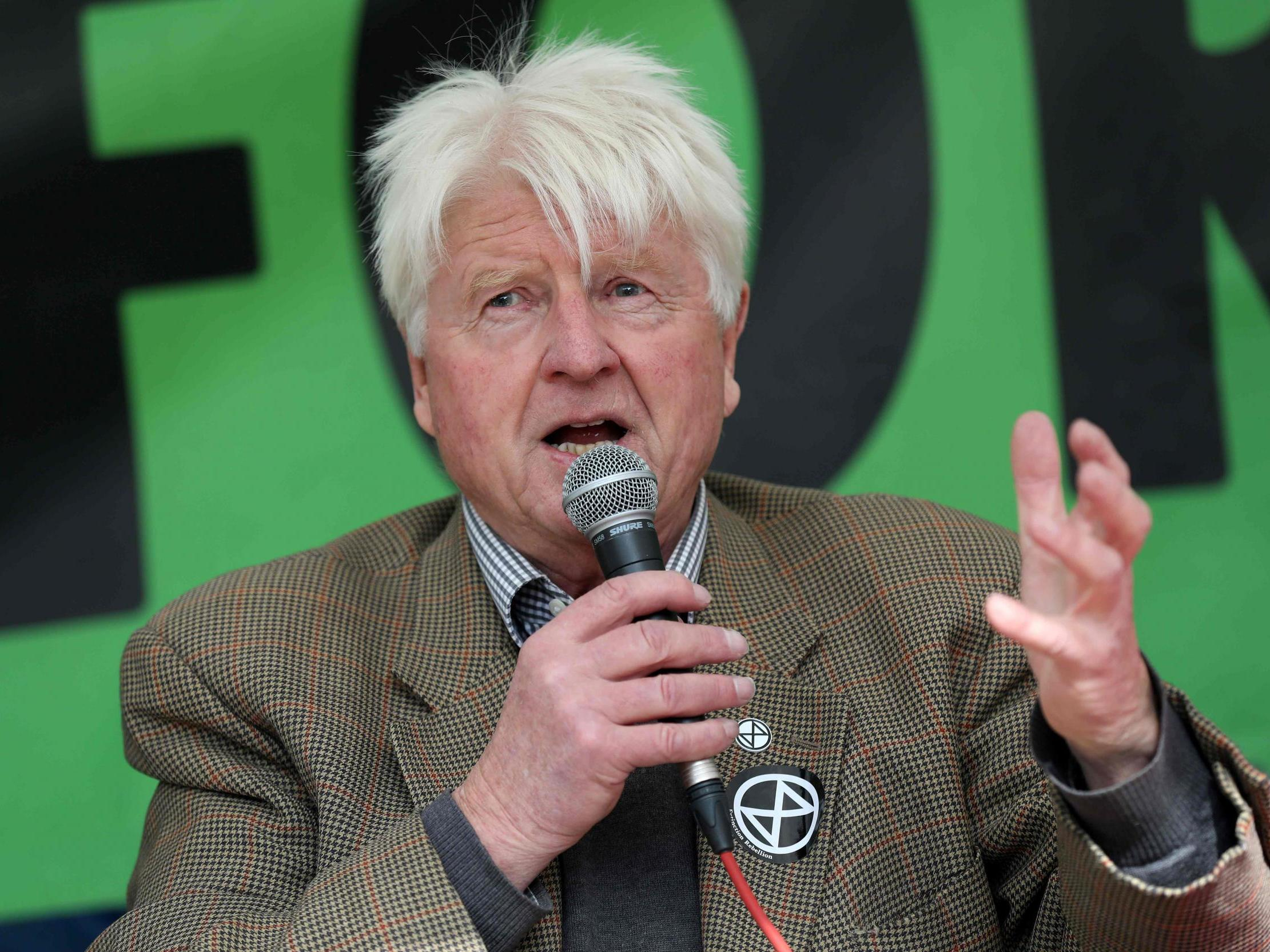 Coronavirus: Stanley Johnson claims he predicted Covid-19 pandemic in novel published 40 years ago