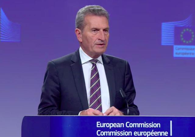 Günther Oettinger, European budget commissioner