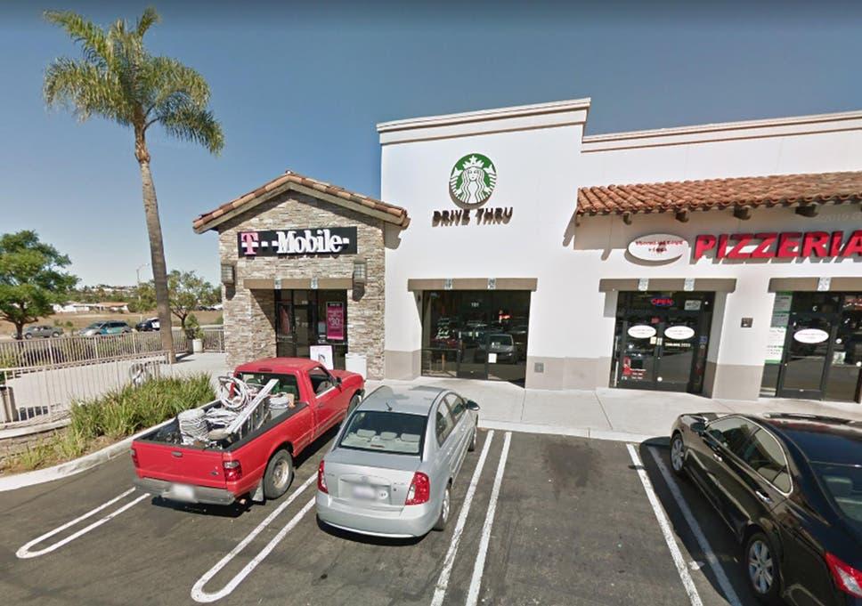 Would-be vigilantes met the suspect at Starbucks in Vista, California