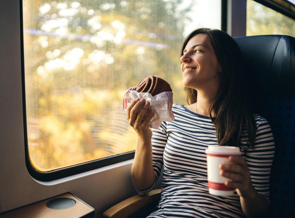 Eating and drinking on trains would be banned if the new advice was taken up