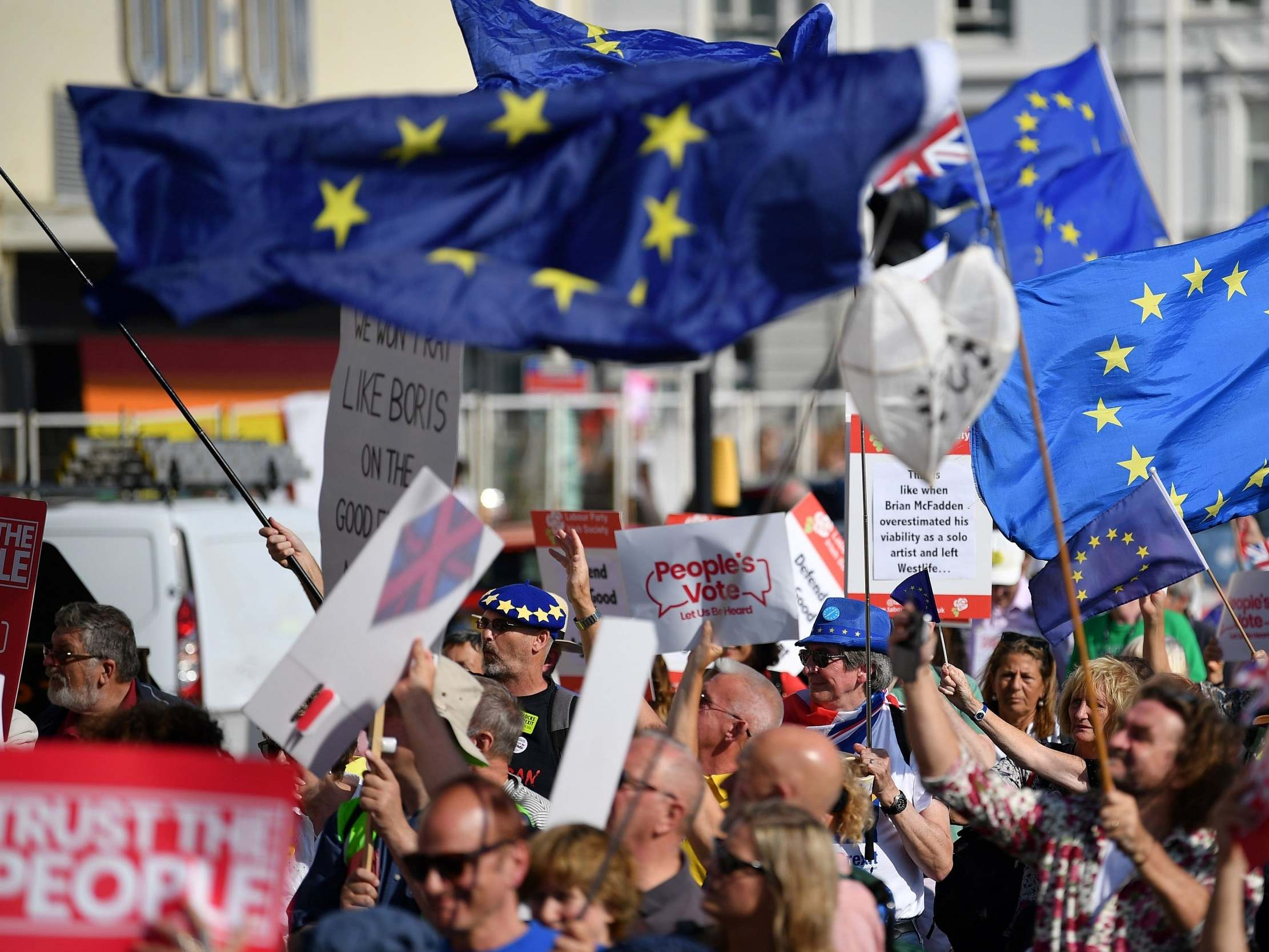 Brexit march - live: Hundreds of thousands to march on Westminster to demand second referendum and MPs vote on Boris Johnson's deal