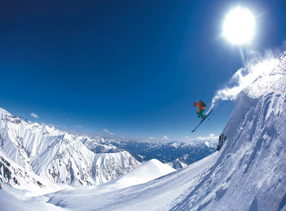 Tetnuldi is at the forefront of the modern freeride scene in the country