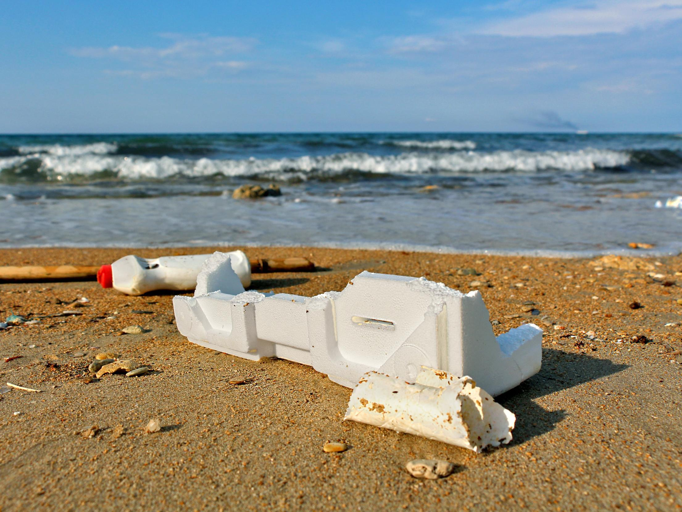 Sunlight can degrade polystyrene in just decades, rather than thousands of years, study finds