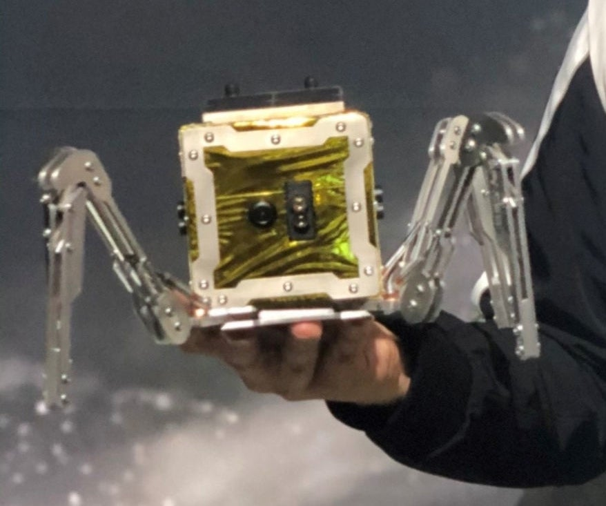 UK to send robot spider to the Moon in first ever lunar mission