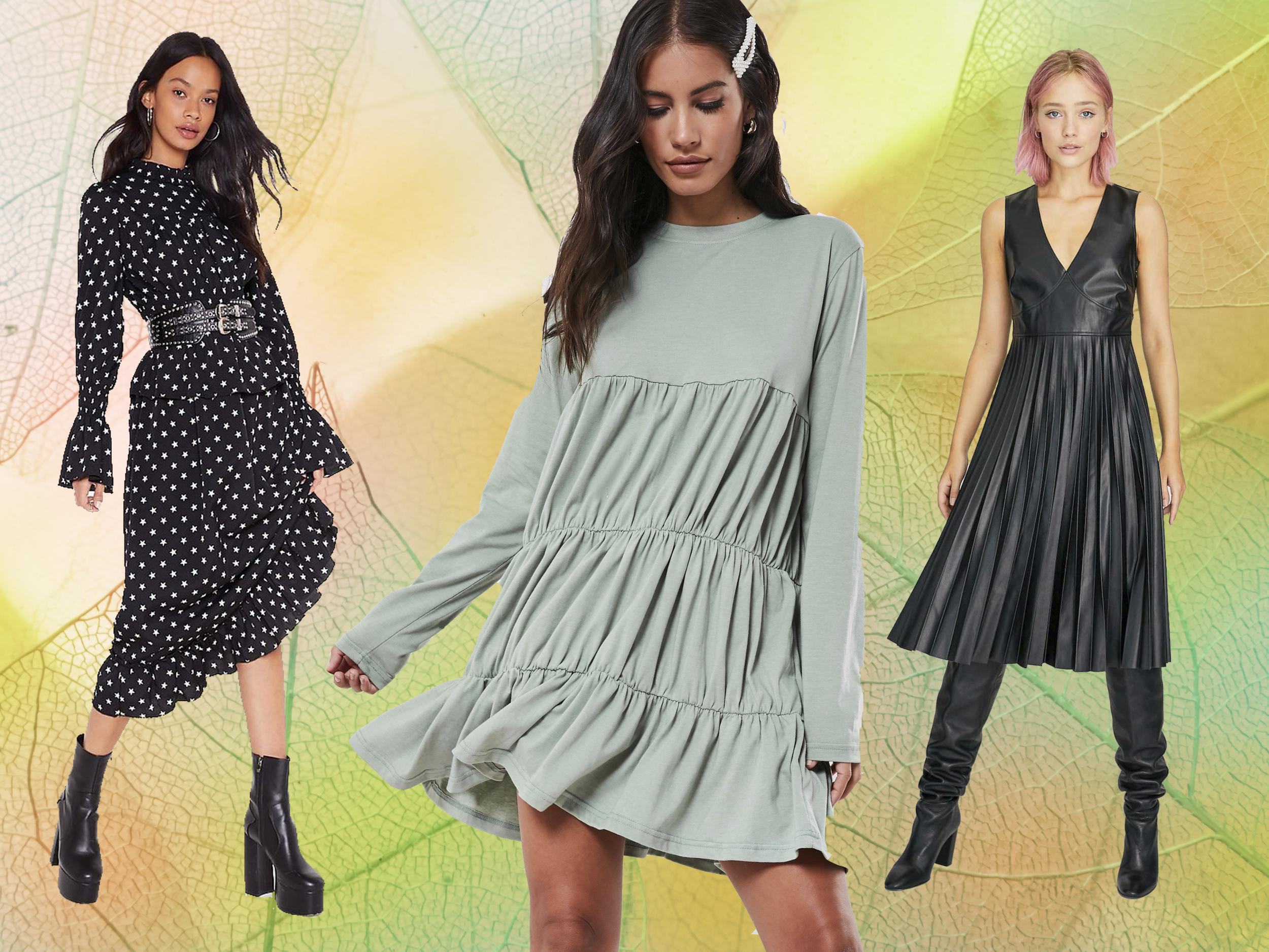 13 best dresses to wear this autumn, from floral midis to corduroy shirts