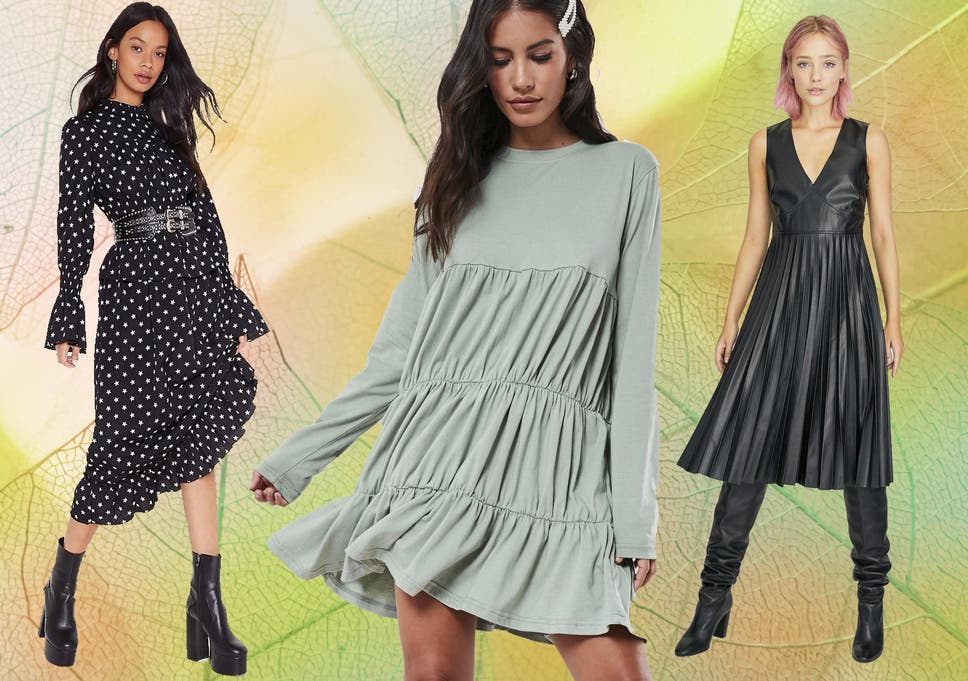 Leather pleats, oversized smocks and poplin frills are in this autumn