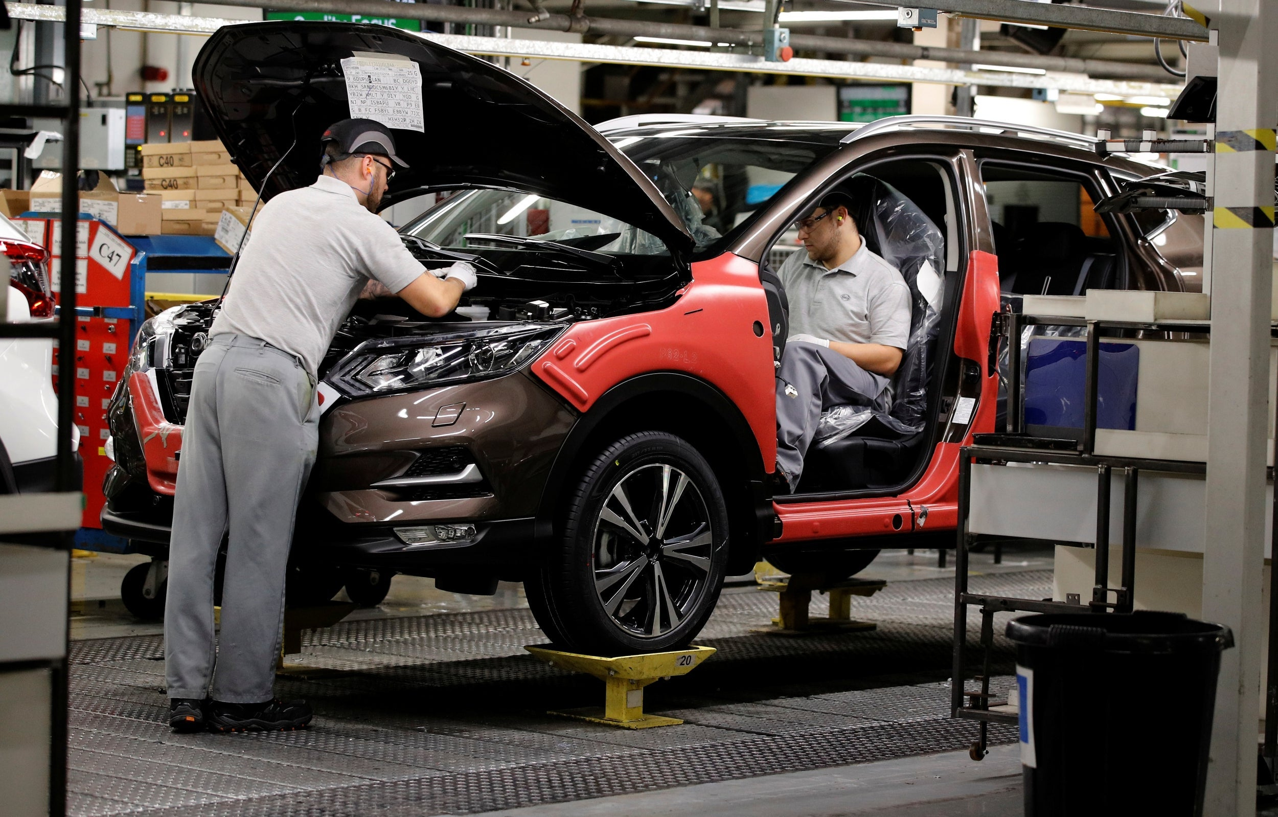 Nissan spares Sunderland plant from job cuts as Barcelona factory to close with loss of 2,800 staff