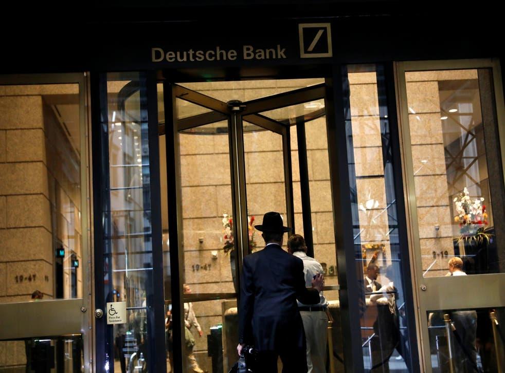 The US headquarters of Deutsche Bank in New York City