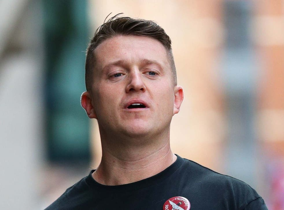 Tommy Robinson has been charged with common assault