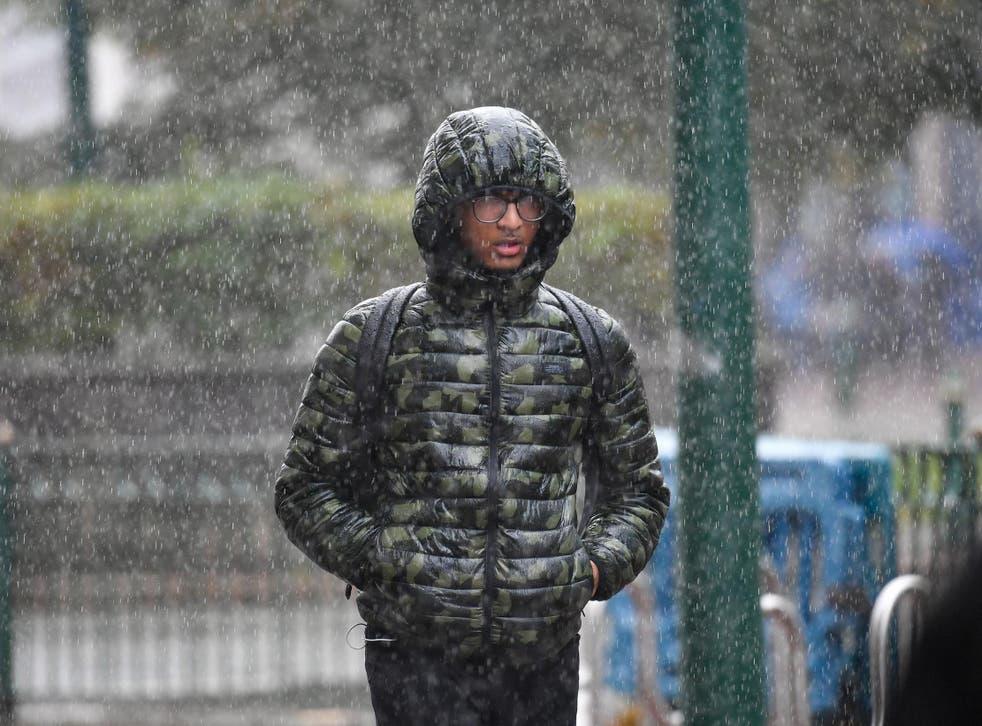 Heavy rain is set to soak the UK this weekend