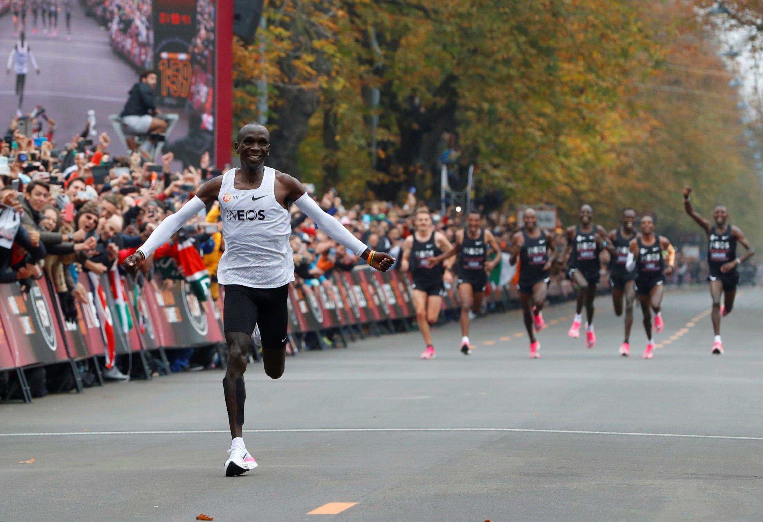 Eliud Kipchoge's record breaking Nike shoes to be banned CNN