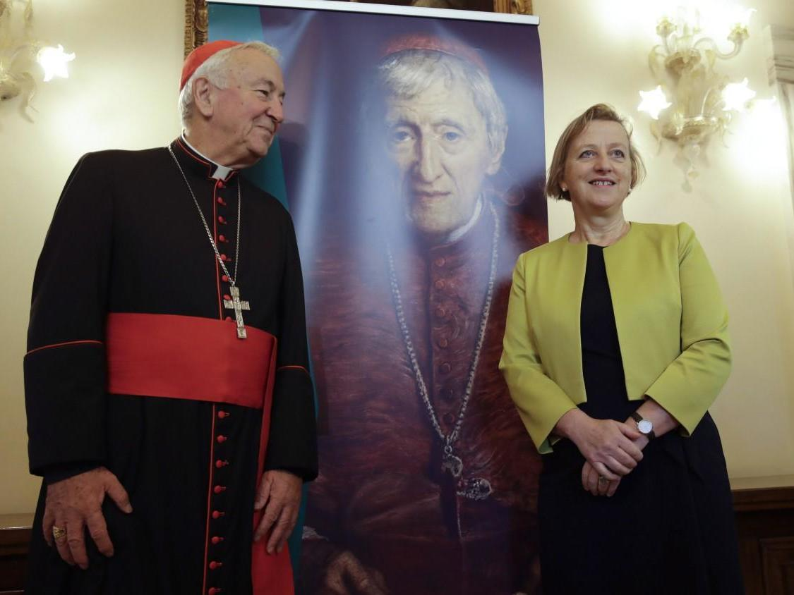 Victorian poet and priest Cardinal John Henry Newman made first British saint of modern age