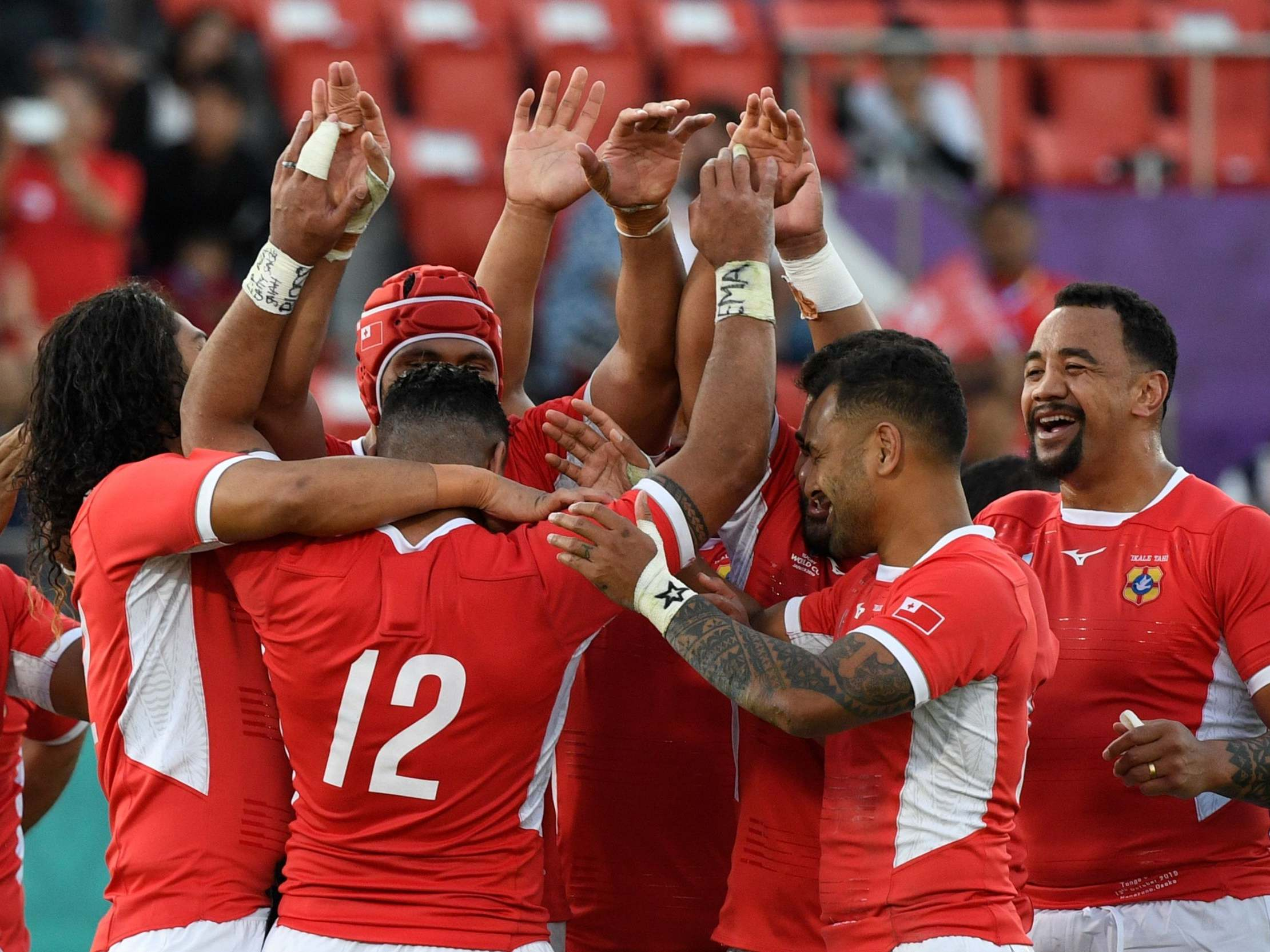 Rugby World Cup 2019: Tonga second-half fightback condemns US to pointless exit