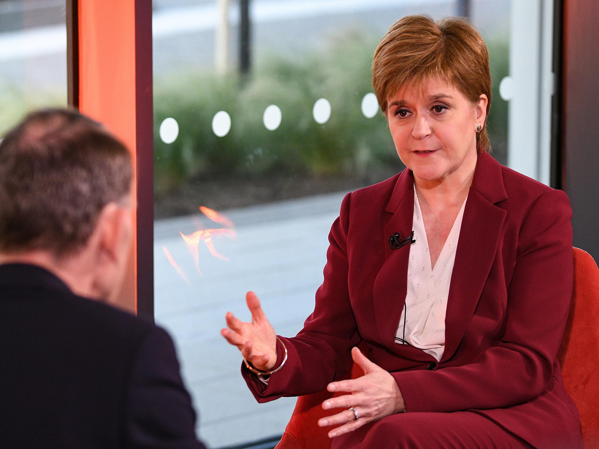 Sturgeon will call for independence referendum in 'matter of weeks' as poll suggests 50% of Scots support fresh ballot