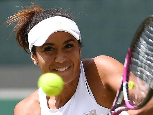 Heather Watson defeated in straight sets by Rebecca Peterson in Tianjin Open final