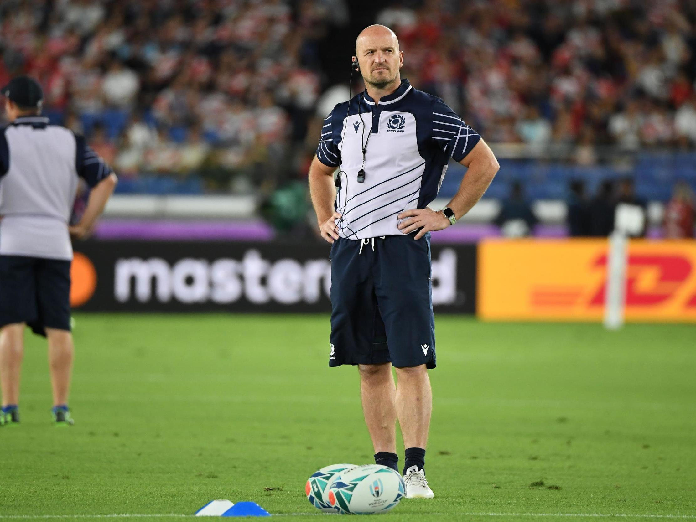 Japan vs Scotland: Gregor Townsend bemoans two 'soft' tries after Rugby World Cup defeat