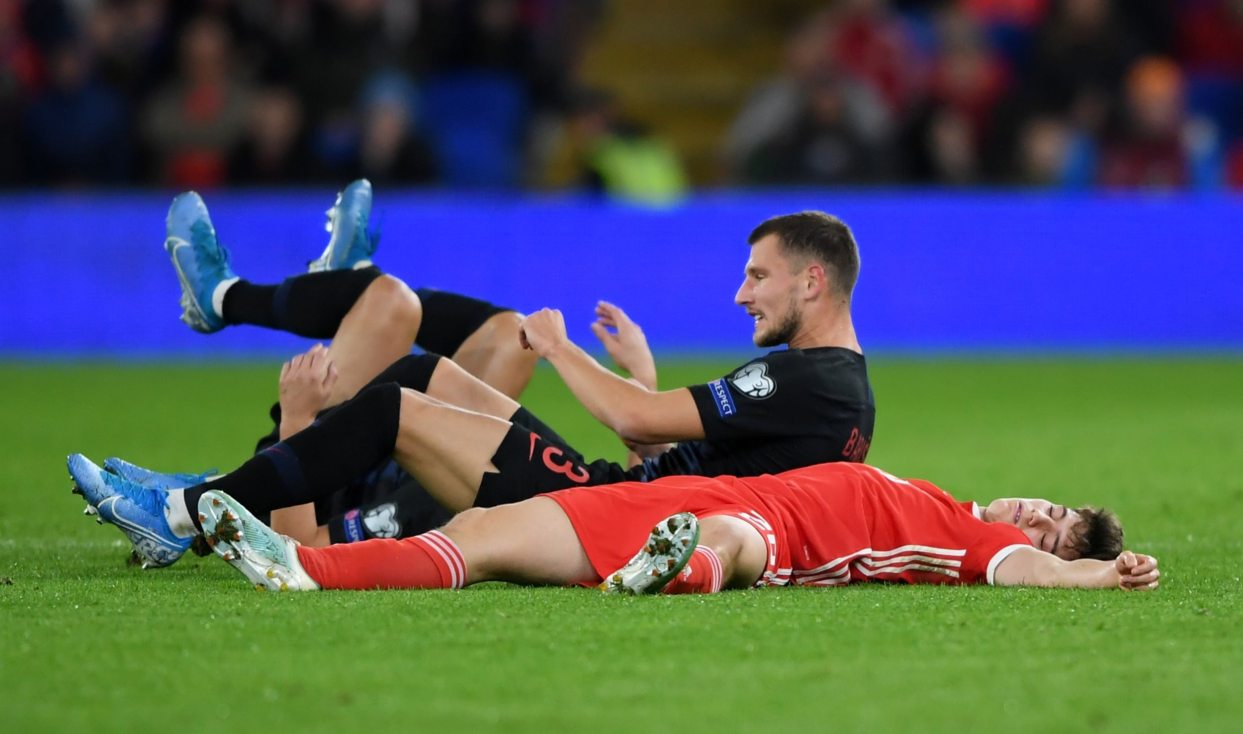 Manchester United star Daniel James denies being knocked out playing for Wales with Ryan Giggs claiming he was 'acting'