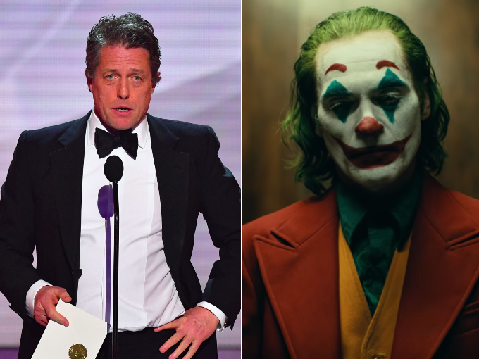 Joker: Hugh Grant criticises 'unendurable' screening after volume 'much too loud' at cinema