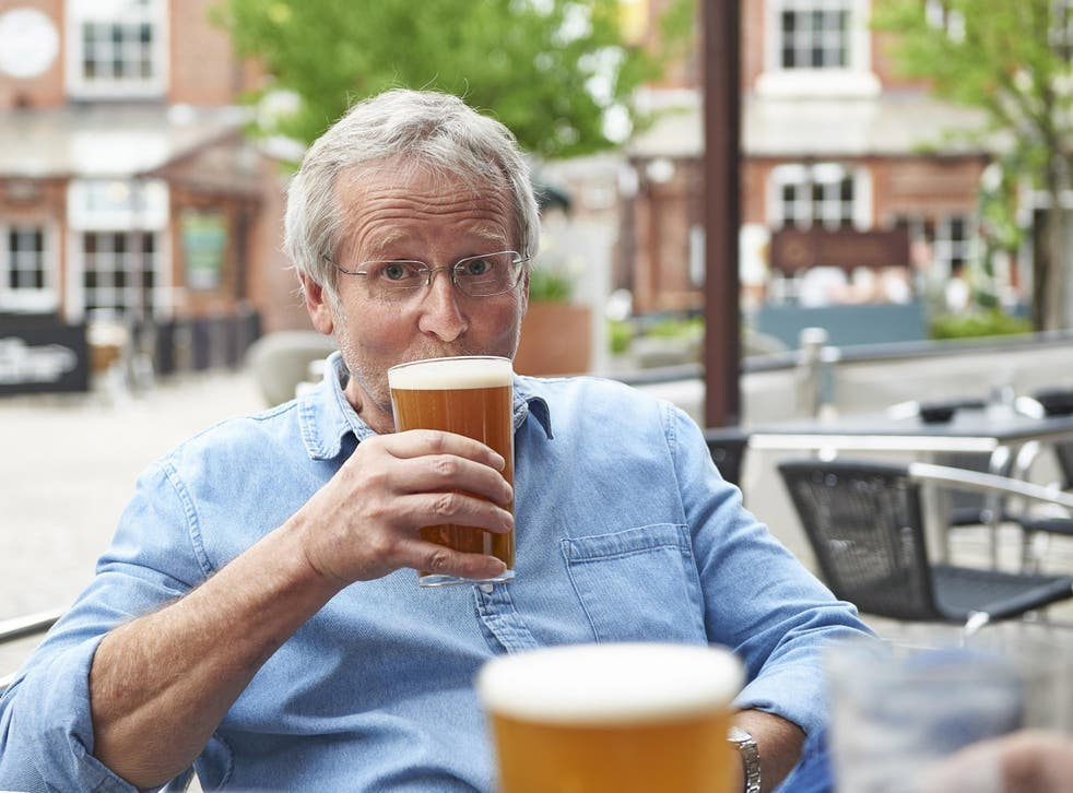 Current guidelines recommend people don't drink more than 14 units of alcohol per week