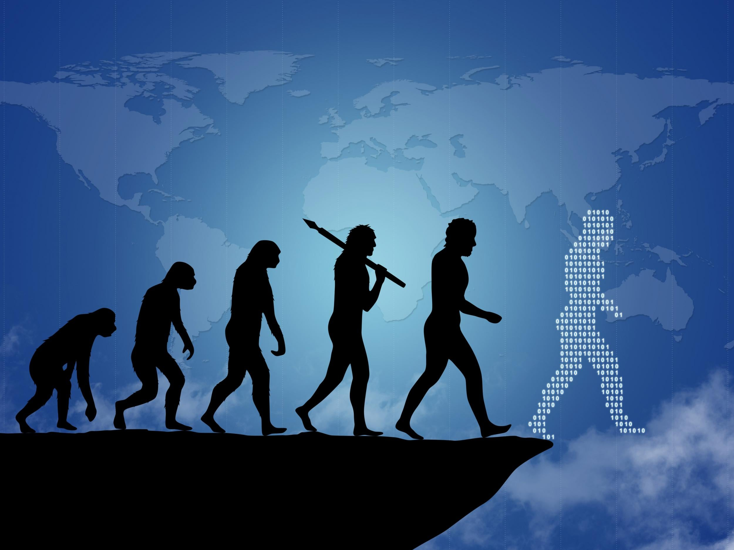 Has human evolution reached its peak for cognitive understanding?
