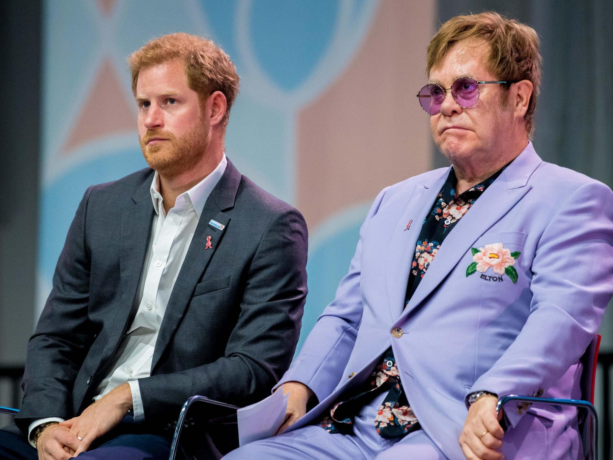 Elton John says Prince Harry has Diana's ability to 'walk into a roo…