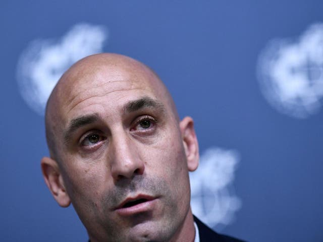 Luis Rubiales is facing trouble moving the Spanish Supercup to Saudi Arabia