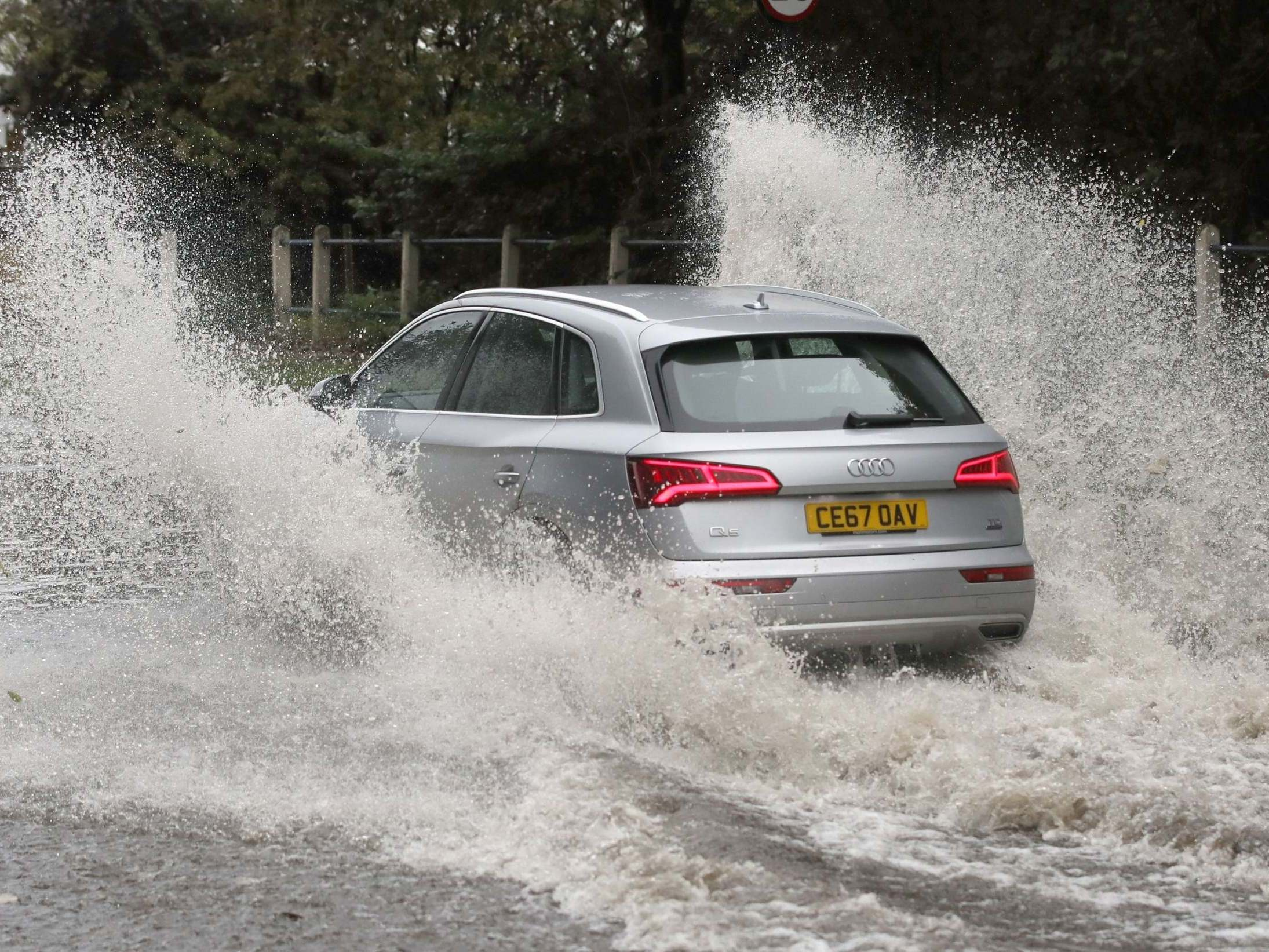 UK weather update: Snow and heavy flooding in some areas with 'danger to life' flood warning in place for this weekend