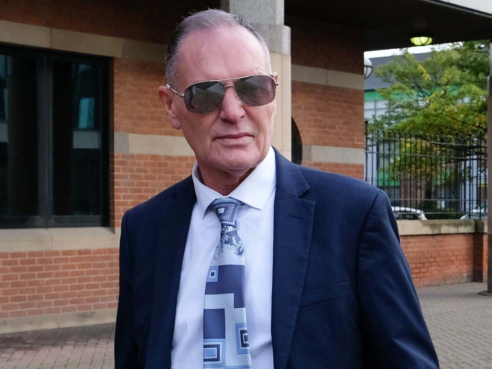 """Paul Gascoigne: Ex-footballer 'forcefully kissed """"fat lass"""" on lips to boost her confidence', court hears"""