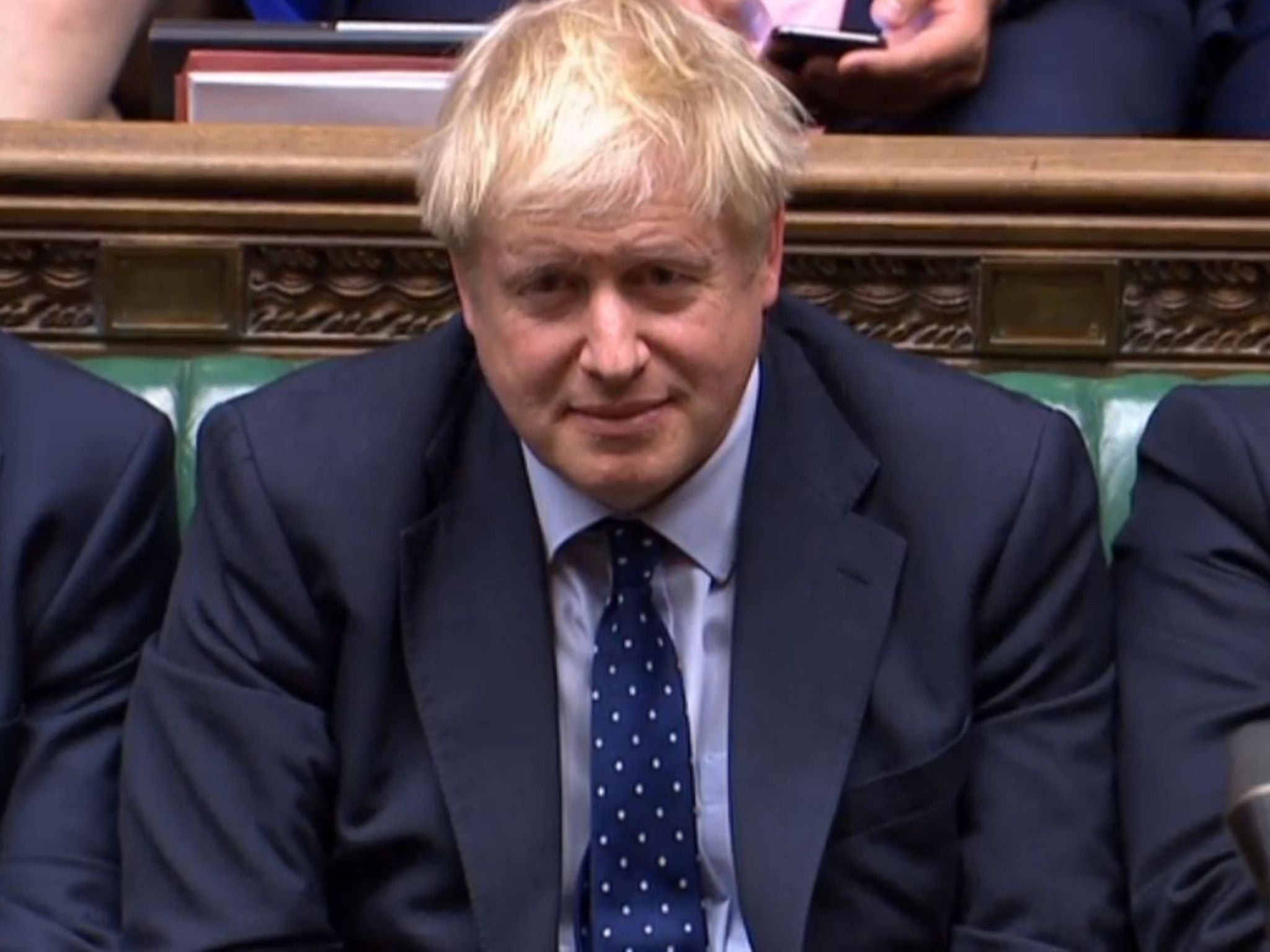 Tory leaflet leak appears to show Boris Johnson has accepted Brexit delay