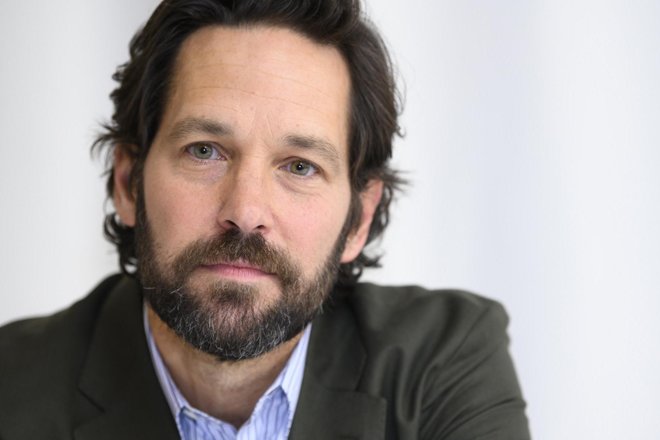 Paul Rudd: 'In private, I'm dealing with all the scars and traumas of real life'