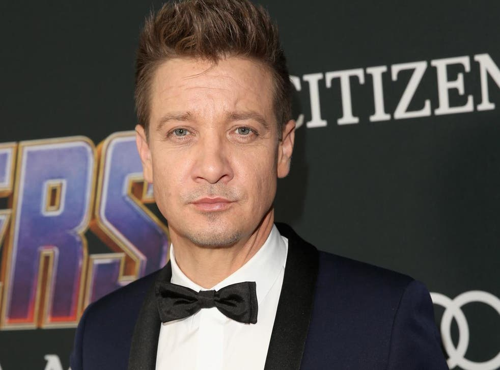 Jeremy Renner attends the world premiere of 'Avengers: Endgame' at the Los Angeles Convention Center on 23 April, 2019 in Los Angeles, California.