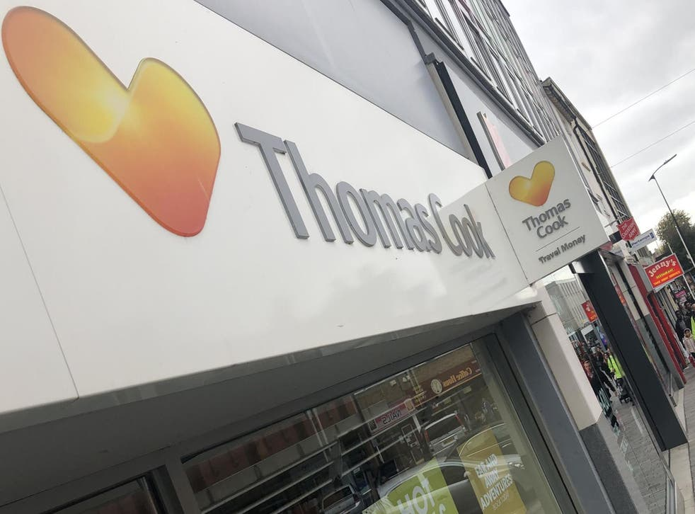 Road to nowhere: at 1.47am on Monday 23 September, winding-up petitions for Thomas Cook and 25 subsidiaries were granted