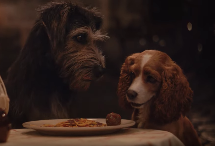 Lady and the Tramp: Trailer for live-action Disney+ film shows iconic spaghetti and meatballs scene