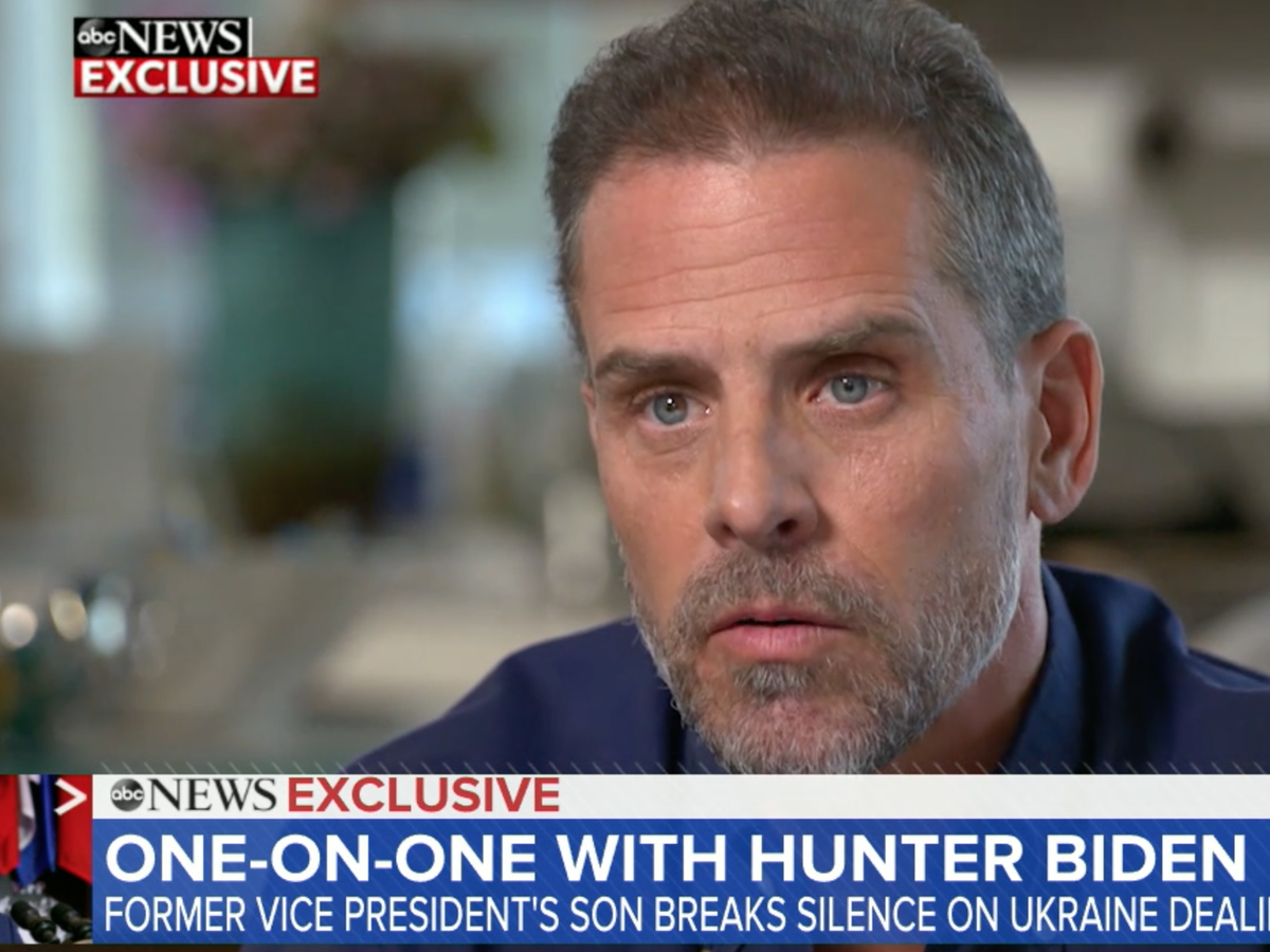 Hunter Biden Admits Poor Judgment In Taking Ukraine Oil Company Role But Says He Did Nothing Improper The Independent The Independent