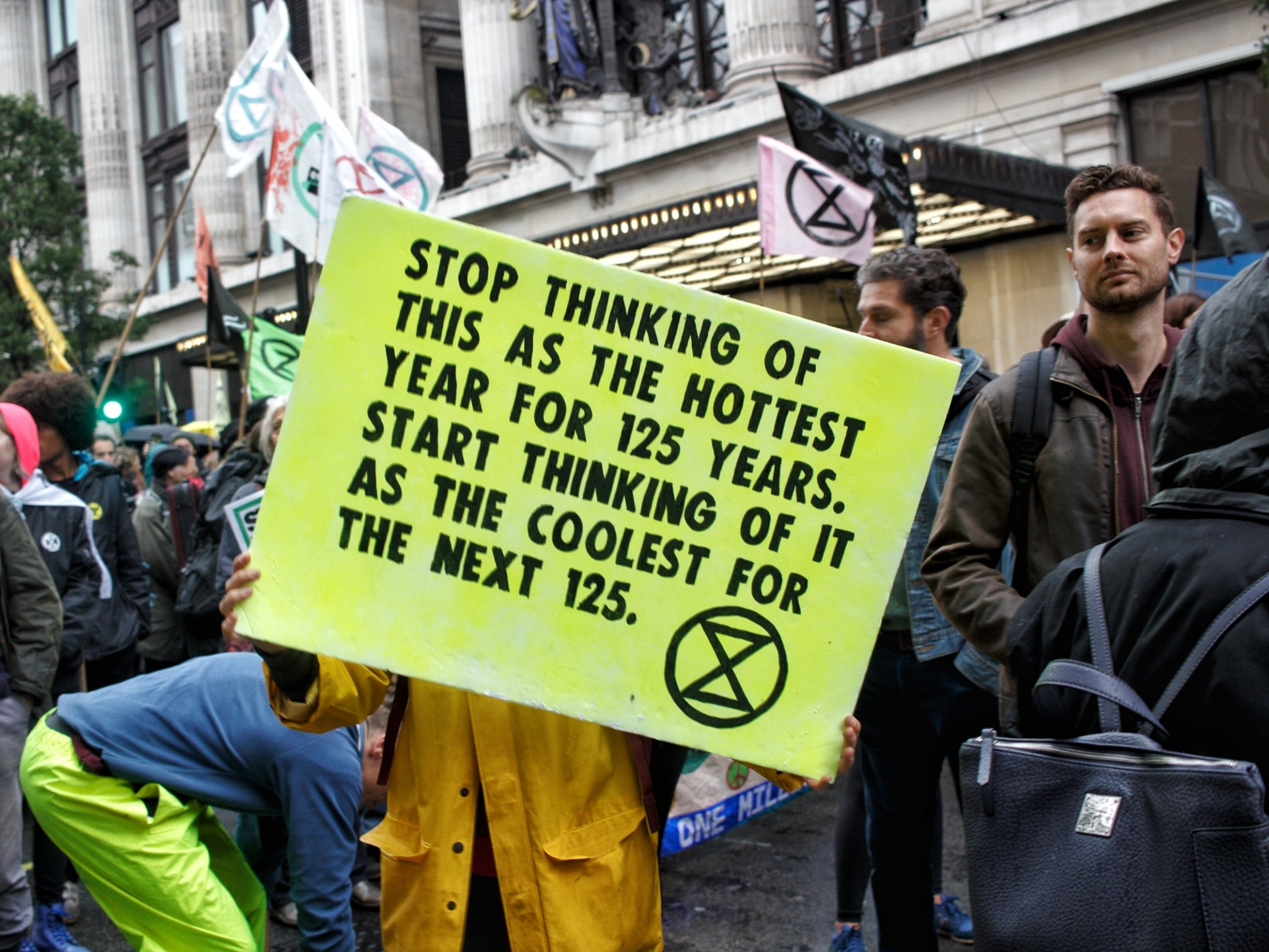 MPs like Andrea Leadsom say they want to save the planet – they could start by listening to climate change protesters