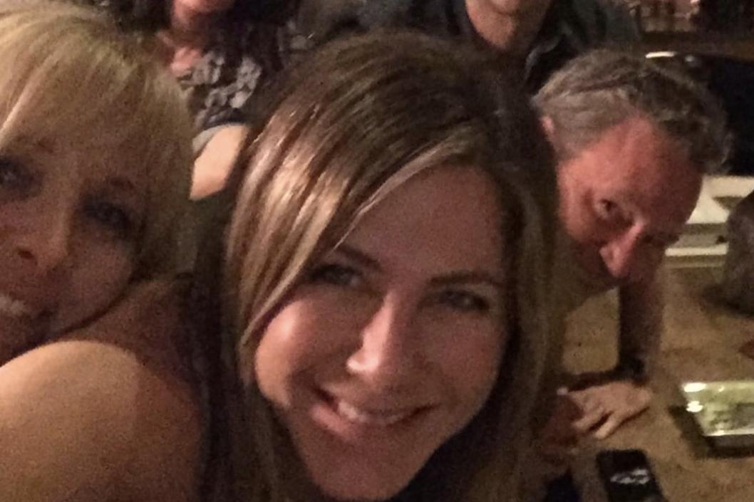 Jennifer Aniston shares Friends reunion selfie in first Instagram post